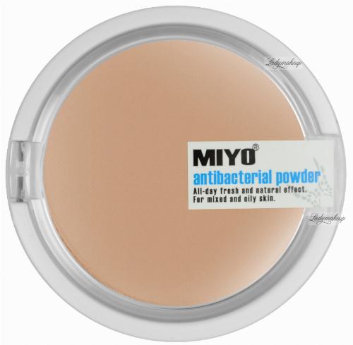 MIYO - Antibacterial Powder - Puder antybakteryjny z ekstraktem