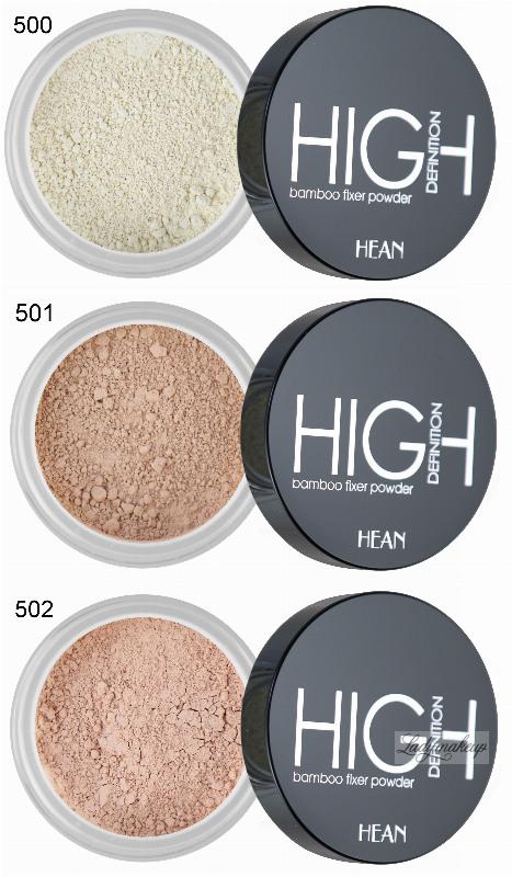 HEAN - HIGH Definition bamboo fixer powder - Mineralny ...