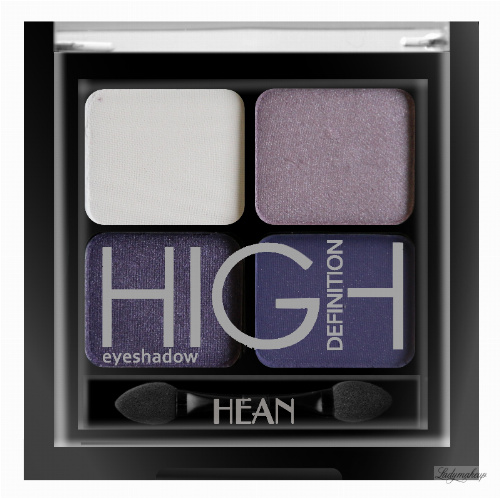 HEAN - High Definition Eyeshadow - Zestaw 4 cieni do powiek