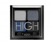 HEAN - High Definition Eyeshadow - Zestaw 4 cieni do powiek - 409 - GREY DENIM - 409 - GREY DENIM