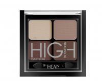HEAN - High Definition Eyeshadow - Zestaw 4 cieni do powiek - 408 - CAFFE TWIST - 408 - CAFFE TWIST