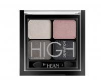 HEAN - High Definition Eyeshadow - Zestaw 4 cieni do powiek - 412 - GREY GLOW - 412 - GREY GLOW