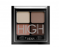 HEAN - High Definition Eyeshadow - Zestaw 4 cieni do powiek - 411 - NUDE - 411 - NUDE