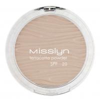 Misslyn - Terracotta powder SPF 20 - Puder brązujący