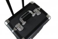 Nailart - Kufer kosmetyczny na rolkach ND4-A BLACK