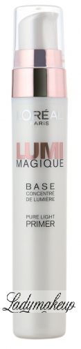 L'Oréal - LUMI MAGIQUE BASE - Baza rozświetlająca pod makijaż