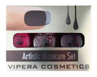 VIPERA - Artistic Manicure Set - Set of 3 varnishes