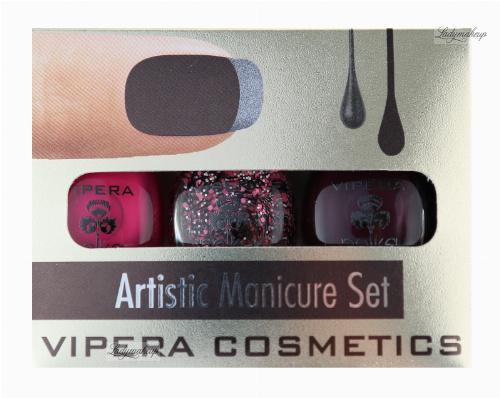 VIPERA - Artistic Manicure Set - Zestaw 3 lakierów
