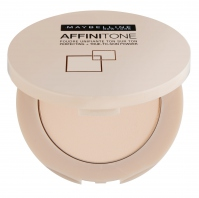 MAYBELLINE - AFFINITONE perfecting + true-to-skin powder - Puder do twarzy