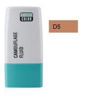 KRYOLAN - Dermacolor - Camouflage Fluid - Fluid wodoodporny - D 5 - D 5