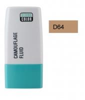 KRYOLAN - Dermacolor - Camouflage Fluid - Fluid wodoodporny - D 64 - D 64