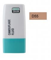 KRYOLAN - Dermacolor - Camouflage Fluid - Fluid wodoodporny - D 55 - D 55