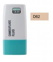 KRYOLAN - Dermacolor - Camouflage Fluid - Fluid wodoodporny - D 62 - D 62