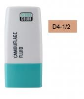 KRYOLAN - Dermacolor - Camouflage Fluid - Fluid wodoodporny - D 4-1/2 - D 4-1/2