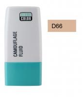 KRYOLAN - Dermacolor - Camouflage Fluid - Fluid wodoodporny - D 66 - D 66