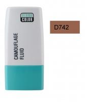 KRYOLAN - Dermacolor - Camouflage Fluid - Fluid wodoodporny - D 742 - D 742