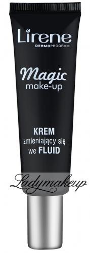 Lirene - Magic make-up - Nawilżający KREM zmieniający się w rozświetlający FLUID
