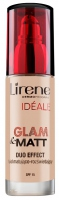 Lirene - IDEALE Glam & Matt Duo Effect - Foundation