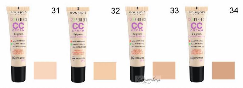 Bourjois 123 Perfect Cc Cream Krem Cc Z 3 Pigmentami
