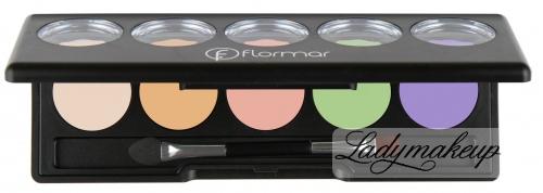 Flormar - Camouflage Palette Concealer - Paleta korektorów