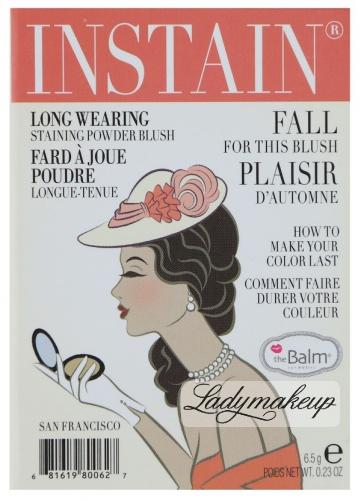 THE BALM - Instain - Staining powder blush - SWISS DOT - Róż do policzków
