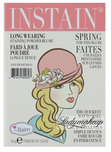 THE BALM - Instain - Staining powder blush - ARGYLE - Róż do policzków