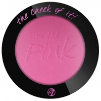 W7 - THE CHEEK OF IT BLUSH - Róż prasowany