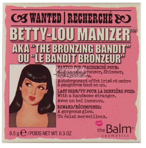 THE BALM - BETTY-LOU MANIZER - Wielofunkcyjny bronzer
