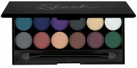 Sleek - Ultra Mattes V2 DARKS - Paleta cieni - 731