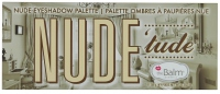 THE BALM - NUDE 'tude - Palette of 12 eyeshadows