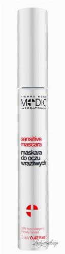 Pierre René - Sensitive mascara - Pogrubiająca maskara do oczu wrażliwych