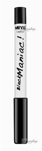 MIYO - Eyeliner Black Mania! - Kredka i cień do oczu