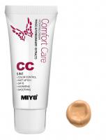 MIYO - Comfort Care Hydrating Cream - Krem koloryzujący CC 5w1-02 - NAKED BEIGE - 02 - NAKED BEIGE