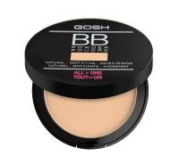 GOSH - BB Powder - Prasowany puder do twarzy - typu BB-06 - WARM BEIGE - 06 - WARM BEIGE