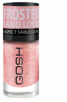 GOSH - Frosted Nail Lacquer - Lakier do paznokci-07 - FROSTED SOFT CORAL - 07 - FROSTED SOFT CORAL