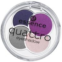 Essence - QUATTRO eyeshadow - Poczwórne cienie do powiek