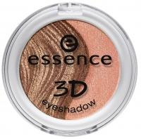 Essence - 3D Eyeshadow - Podwójny cień do powiek 3D