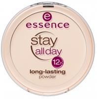 Essence - Stay all day long-lasting powder - Puder w kompakcie