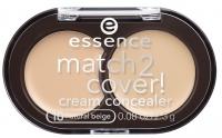 Essence - Match 2 cover! Cream concealer - Korektor do twarzy