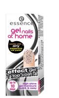 Essence - Gel nails at home - Top coat - Żelowy lakier nawirzchniowy-05 - POLKA DOTS - 05 - POLKA DOTS