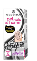 Essence - Gel nails at home - Top coat - Żelowy lakier nawirzchniowy-05 - POLKA DOTS - 05 - POLKA DOTS