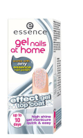 Essence - Gel nails at home - Top coat - Żelowy lakier nawirzchniowy-02 - HOLOGRAPHIC TOUCH - 02 - HOLOGRAPHIC TOUCH