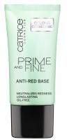 Catrice - PRIME AND FINE - Anti-red base - Baza neutralizująca zaczerwienienia - 76885
