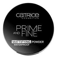 Catrice - Primer and Fine Mattifying Powder Waterproof - Wodoodporny puder matujący