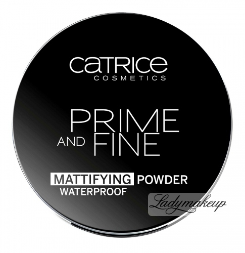 Catrice - Primer and Fine Mattifying Powder Waterproof