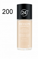 Revlon - podkład ColorStay cera tłusta i mieszana - 200 Nude - 200 Nude