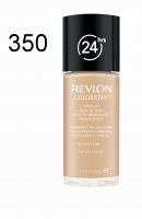 Revlon - podkład ColorStay cera tłusta i mieszana - 350 Rich Tan - 350 Rich Tan
