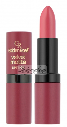 Golden Rose - Velvet matte LIPSTICK - Matowa pomadka do ust