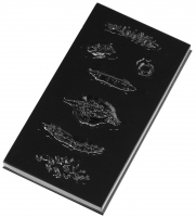 KRYOLAN - Plastikowa matryca do wykonywania blizn - ART. 2723