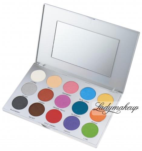 KRYOLAN - VIVA Meke-up Palette with 15 colours - Paleta 15 cieni - ART. 9115